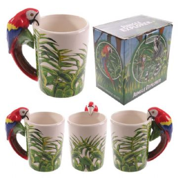 Parrot Shaped Mug Handle